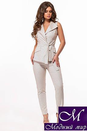Летний деловой костюм женский (р. 42, 44, 46) арт. 29-383, фото 2