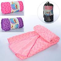 Полотенце для йоги MS 2750 Розовый