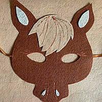 Карнавальная маска Сказочные герои ЮЛий -конь, фото 1
