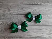 Бутоньєрка для гостей (бант)- ізумрудний колір