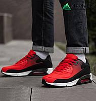Кросівки чоловічі червоні Nike Air Max репліка
