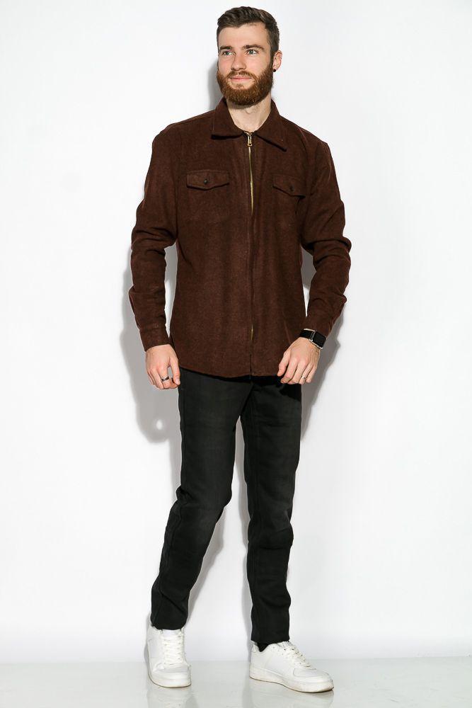 Рубашка коричневая