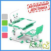 Ученические столы и стулья Evo-kids BD-04 Teddy (с лампой)