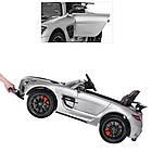 Детский электромобиль Mercedes Benz SLS M 2760EBLRS-11-2 серебро, фото 5