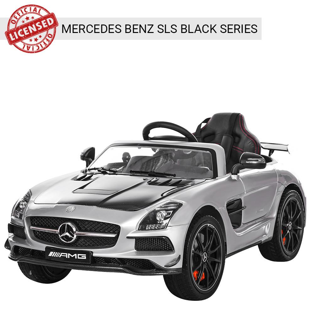 Детский электромобиль Mercedes Benz SLS M 2760EBLRS-11-2 серебро