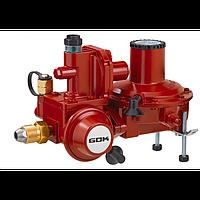 GOK Регулятор тиску газу з ПЗК та ПСК до газгольдера POL * IG G 3/4 50 мбар 20 кг.ч