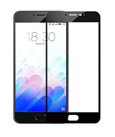 Защитное стекло для Huawei Honor 10 цветное Full Screen черный
