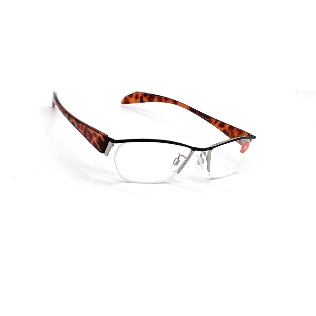 Жіночі окуляри з білої лінзою 1812