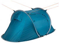 Палатка Кемпинг Pop Up 2 Голубая (4823082714261), фото 1