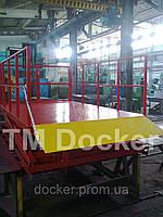 Подъемник ножничный 2500х1500мм гидравлический Docker, ход 1,6м 1т