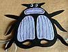 Карнавальная маска Жук Скарабей
