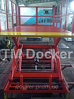 Подъемник ножничный 2500х1500мм гидравлический Docker , ход 1,6м 2т