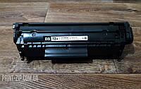 Картридж HP 12A ( Q2612 ) Заправленый первопроходец для принтеров и мфу HP. Оригинал