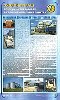 Безпека на елеваторах та хлібоприймальних підприємствах.Розміщення,зберігання та транспортування зерна