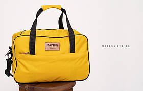 Сумка «Mavens Stroll» для ручной клади Wizz Air (40х30х20) | Ryanair (40х20х25) Цвет желтый