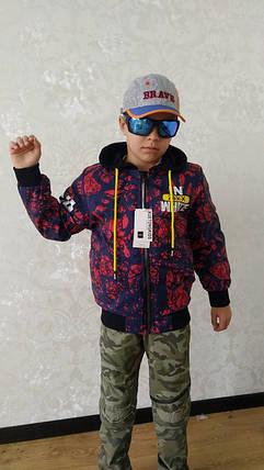 Куртка бомбер 5-8 лет, фото 2