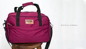 Сумка «Mavens Stroll» для ручной клади Wizz Air (40х30х20) | Ryanair (40х20х25) Цвет фиолетовый
