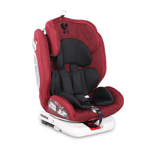 Детское автокресло Bertoni Roto Isofix red/black (0-36 кг) (Болгария)