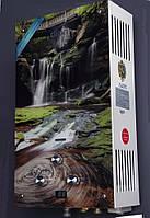 Колонка газовая Dion 10 стекло водопад