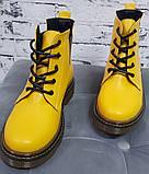 Ботинки демисезонные на низком каблучке из натуральной кожи от производителя модель БС8095-3, фото 2