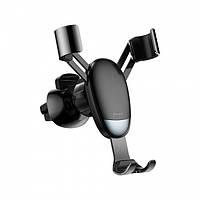 Автодержатель Baseus Mini Gravity Holder Черный SUYL-G, фото 1