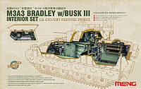 Набор деталировки интерьера M3A3 BRADLEY W/BUSK III