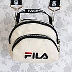 Женская сумка через плечо баретка Fila маленькая, фото 2