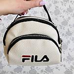 Женская сумка через плечо баретка Fila маленькая, фото 5