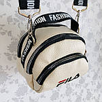 Женская сумка через плечо баретка Fila маленькая, фото 4