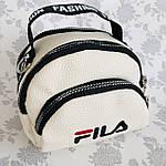 Женская сумка через плечо баретка Fila маленькая, фото 7