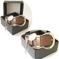 Ремень Christian Dior коричневый