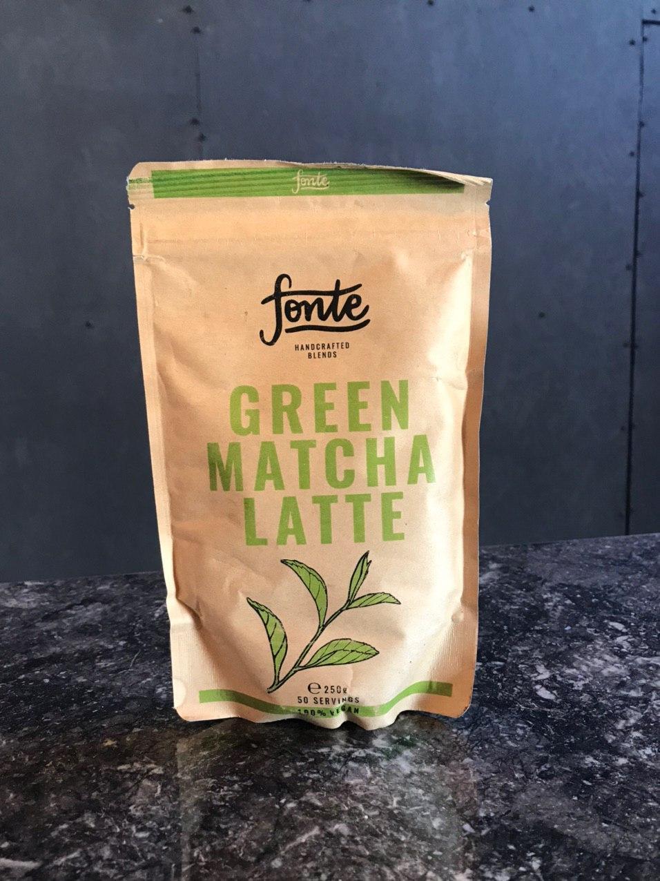ЗЕЛЕНИЙ МАТЧА ЛАТТЕ Fonte Green Matcha Latte 250g. РАСТВОРИМОЕ КОФЕ ОПТ РОЗНИЦА