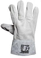 Перчатки спилковые (замшевые краги )