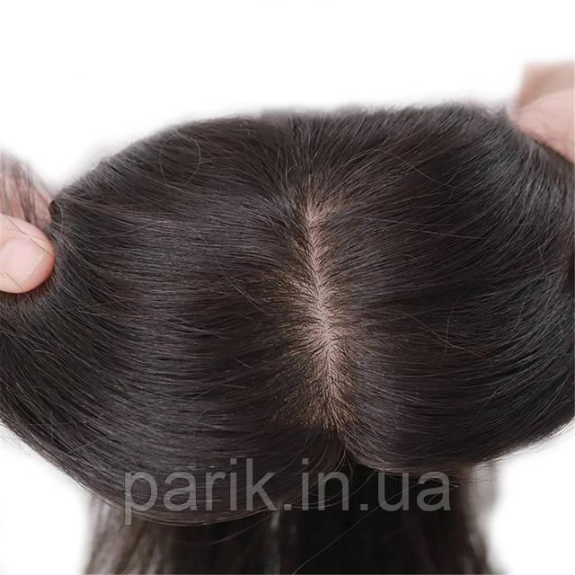 Накладка из волос черная