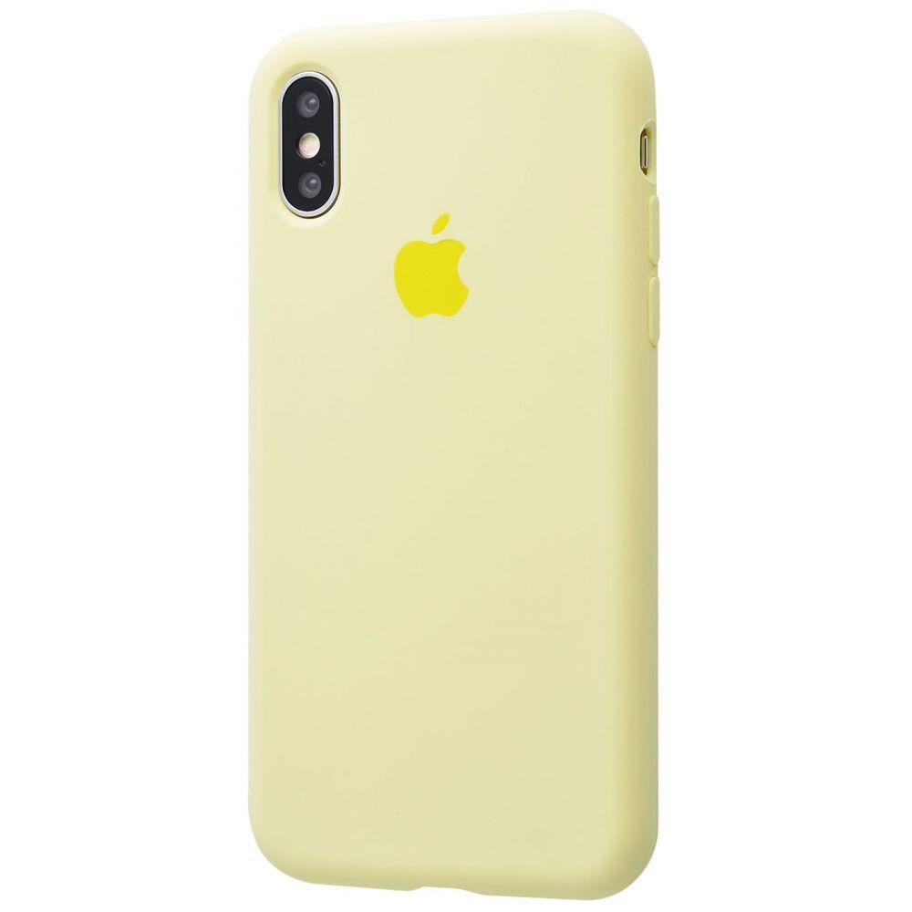 Чехол Tina Silicone Case Full Cover iPhone X/Xs