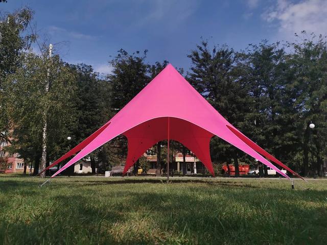 розовый шатер киев