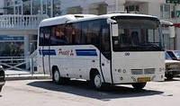 Лобове скло автобуса MITSUBISHI PRESTIGE DELUX