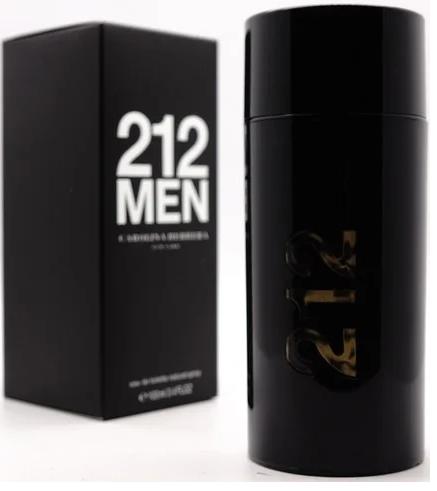 Чоловіча туалетна вода Carolina Herrera 212 Men (чорні) 100 мл
