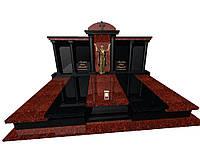 Пам'ятник гранітний подвійний Ексклюзивний S1900, фото 1