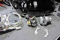 "BMW X1 (E84) - замена линз на биксеноновые линзы HeIla 3R F1 3.0"" дюйма (⌀76мм) D1/2/3/4S"
