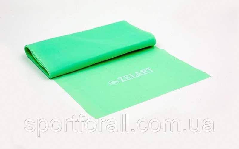 Лента эластичная для фитнеса и йоги Record (р-р 1,2мx15смx0,3мм) FI-6306