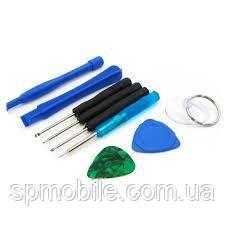 Набор инструментов AIDA 7in1 (отвёртки: Y0.6, пенталоб 0.8, -2.0, +1.2; лопатка, медиатор, присоска)