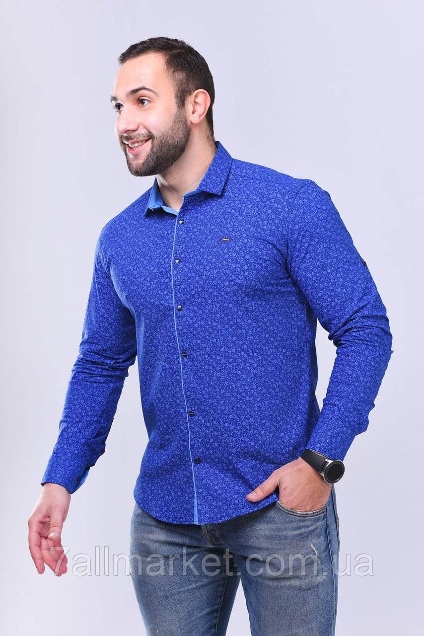 """Рубашка мужская с различным принтом, р.S-2XL """"EMRE"""" недорого от прямого поставщика"""