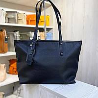 Большая Кожаная женская сумка Италия Шоппер натуральная кожа