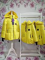 Куртка весна/осень для девочки ТМ Манифик