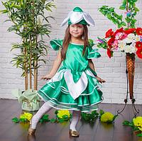 Очаровательное, воздушное платье Подснежника для девочки