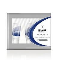 Дорожный набор Oily/Acne Trial Kit IMAGE Skincare