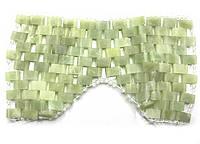 Массажер нефритовый для лица (прямоугольные вставки)(27х14 см)