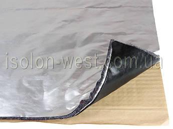 Виброшумка войлочная фольгированная 3в1 10ФСВВ/2.0 (50х70)см, толщина 12мм., влагостойкая, многослойная