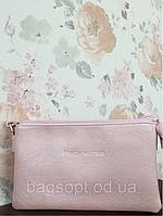 Розовый клатч маленький Pretty Woman на длинном плечевом ремешке Одесса 7 км, фото 1